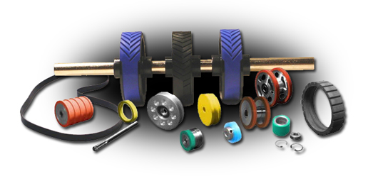 belts and rollers